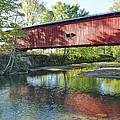 Crooks Bridge - Creek View by Harold Rau