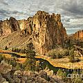 Croooked River Around The Jagged Peaks by Adam Jewell