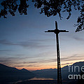 Cross On The Mountain by Mats Silvan