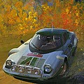 Cropped Stratos Rallye Magazine Cover Art  by Toby Nippel