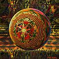 Croquet Crochet Ball by Robin Moline