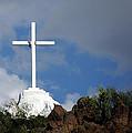 Cross At San Xavier - Tucson by Jon Berghoff