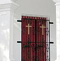 Key West Church Doors by Bob Slitzan
