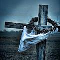 Cross In A Field by Jill Battaglia