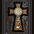 Cross In Leather by Marie Jamieson