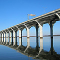 Cross Lake Bridge 1 by Alan Metzger