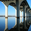 Cross Lake Bridge 2 by Alan Metzger