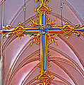 Cross Of Church Of Our Lady by Elvis Vaughn