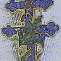 Cross Of Lorraine 1 by Lovina Wright