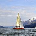 Cross Sound Sailboat by Cathy Mahnke