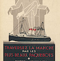 Cross The Channel In A  Passenger by Mary Evans Picture Library