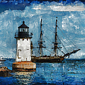Crossing Into The Harbor by Jeff Folger