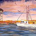 Crossing The Tillamook Bay Bar by Chriss Pagani