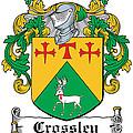 Crossley Coat Of Arms Irish by Heraldry
