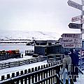Crossroads In Iceland by Wernher Krutein