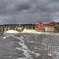 Croton Dam Flood by Robert Pearson