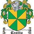 Crotty Coat Of Arms Irish by Heraldry