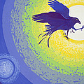 Crow, 1999 Gouache On Paper by Derek Crow