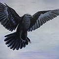 Crow Flight by Xochi Hughes Madera