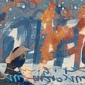 Crow Snow by Carol Leigh