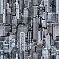 Crowded City by Peter Awax