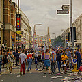 Crowds At Carnival Notting Hill Celebrations by Richard Morris