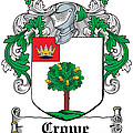 Crowe Coat Of Arms Irish by Heraldry