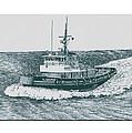 Crowley Tugboat Ocean Going Gladiator by Jack Pumphrey