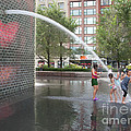 Crown Fountain Play by Ann Horn