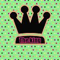 Crown In Pop Art by Tommytechno Sweden
