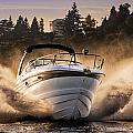 Crownline Boat by Mike Penney