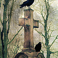 Urban Graveyard Crows by Gothicrow Images