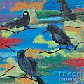 Crows by Laura Webb