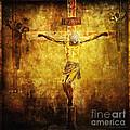 Crucified Via Dolorosa 12 by Lianne Schneider