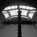 Crucifix And Skylight by Dave Mills