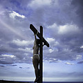 Crucifix In The Light by Ramon Martinez