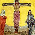 Crucifix by Munir Alawi