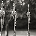 Crucifixes In A Row by Andy Crawford