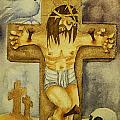 Crucifixion by Daniel P Cronin