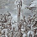Crucifixion by Johann or Hans von Aachen