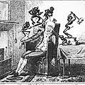 Cruikshank: Headache, 1819 by Granger