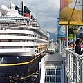 Cruise Dockside In Vancouver by Nicki Bennett