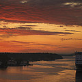 Cruise Ship In Sweden Mg_3860 by David Orias