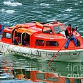 Cruise Ship Tender Boat  by Tap On Photo