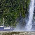 Cruising By A Waterfall by Stuart Litoff