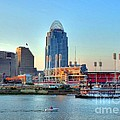 Cruising By Cincinnati by Mel Steinhauer