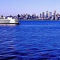 Cruising Elliott Bay by Benjamin Yeager