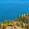 Cruising Jenny Lake by John M Bailey