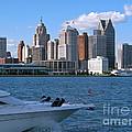 Cruising Past Detroit by Ann Horn