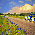 Crusin' The Hill Country In Spring by Lynn Bauer